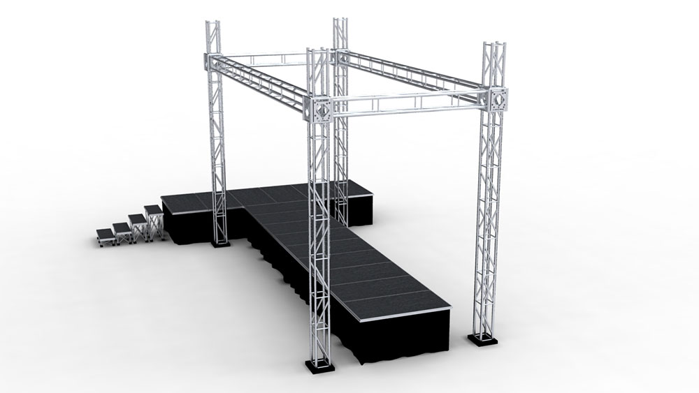 Trusses puglia, modular trusses lecce, truss construction, truss